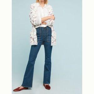 Pilcro Utility High-Rise Bootcut Jeans